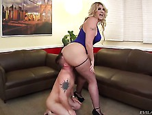 Bossy Blonde Kelli Staxxx Needs Her Ass And Her Feet Worshipped