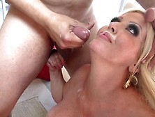 Hard Fuck With Kinky Alura Jenson Then Creamed On Her Face