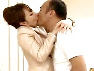 Office Lady In Pantyhose Sucking Guy Getting Her P