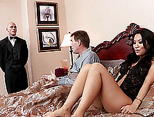 Naughty Asian Cougar With A Hot Body Getting Her Shaved Pussy Li
