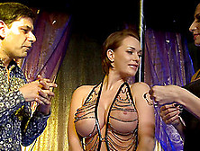 The Most Gorgeous Pole-Dancing Babes Having A Threesome Adventur