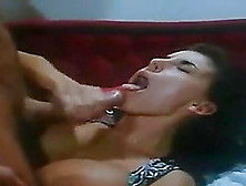 Vintage Sex Goddess With Big Breasts Getting The Anal Treatment
