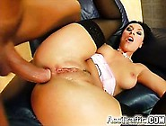 The Big Titted Mercedes Gets An Anal Pounding At