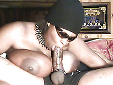 Voracious Black Bbw Mommy Is Sucking My Dick Deepthroat For Cum
