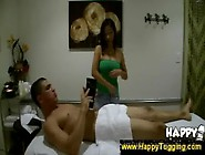 Hidden Cams Capture Erotic Asian Massage