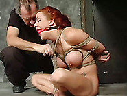 Redhead Milf Gets Bound And Tortured In A Basement