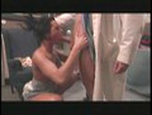 Belladonna Spreads Her Legs Wide And Gets Her Pussy Eaten By Her