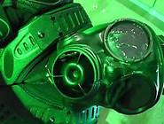 Respirator Facial: Epic Cum Shot On S10 Gas Mask