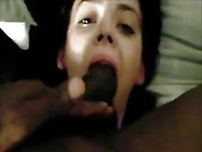 Petite 18 Year Old Teen Experiences Big Black Cock In Throat...