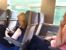 Girls Curious Check Out Guys Crotch Bulge On Train 2 - Social Ex