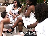 White Slaves Licking Black Pussies