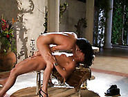 Romantic Quickie With Torrid Brunette Milf India Summer