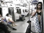 Naked Masturbating In The Train Public Nude