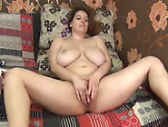 Pretty Big Boobed Babe Performing A Sweet Cam Show