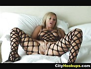 Blonde Chick Memphis Monroe Poses And Pussy Lick By Cityhookups