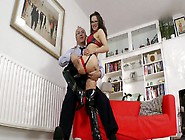 Rubbish Hoe Amica Is Nailed Hard From Behind