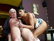 Arousing Brunette Hoe Sander Welcomes Hard Fuck In Missionary St