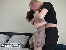 Naughty Babe Rides Her Mans Shaft Like A Skank