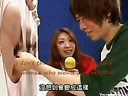 Crazy Japanese Gameshow Mom & Son Creampie
