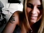 Super Hot Danish Cam Girl On Webcam