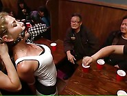 Whore Used And Degraded In A Bar Part 01