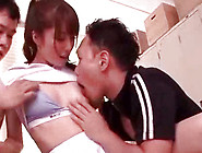 Merciless Japanese Cock Sucker Is Swallowing Big Penis