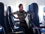 Naughty Sasha And Dasha On The Plane