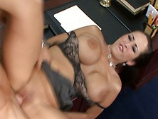 Analed carmella bing jizzed in a 3some - 2 8