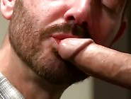 Dr.  Rocco Steele Takes Boys' Temperature With His Enormous
