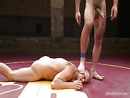 Sexy Boys Go Naked In The Wrestling Ring