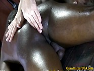 Straight Black Dude Goes For Gay Massage