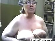 Granny And Granny Doing Stript On Webcam Skype