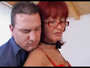 Mature Fucked In Her Pumped Pussy