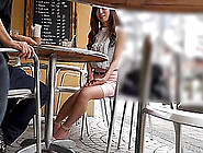 Sizzling Japanese Girl With Long Red Hair Playing With Her Boyfr