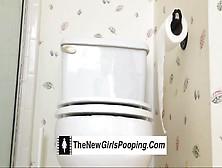 Club Shaped Toilet Turd