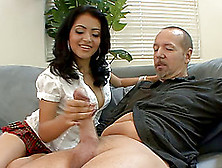 Stupefying Brunette Nika Is Interested In A Massive Dong