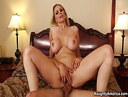 Teasing Busty Milf Julia Ann In Real Blowjob Video