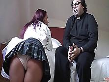 Puta Locura Naughty Schoolgirl Redhead Babe Punished By Torbe
