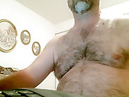 Hairy Daddy Show Cock + Ass (No Cum) 1