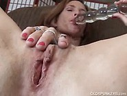 Horny Mature Brunette Goes Solo And Toys Her Pussy