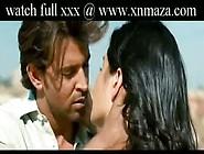 Katrina Kaif And Hrithik Roshan Hot And Sexy Kiss Scene