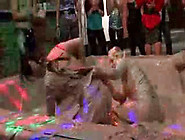 Fancy Models Get Real Messy In Mud Fights