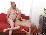 Auburn Skinny Bitchie Chick Enjoys Mmf Threesome And Gets Banged