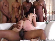 Chanel Preston Gettin Her Ass N Pussy Dug The Fuck Out By Black