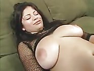 Amateur Latina With Big Tits Riding A Long Black Dick