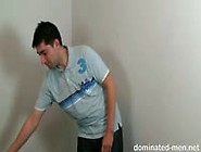 Young Guy Strips Ready For His First Domination Session