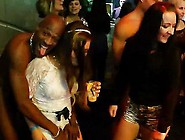 Horny Women Have Whipped Cream Fantasy In Strip Club