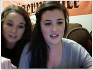 Two Teenies Showing Off Bare Feet On Webcam