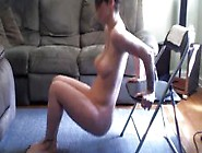 Shy Webcam Girl Does Sexy Yoga In The Nude