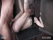 Sexy Slave Chick Lydia Black Getting Her Mouth Fucked Hard In Bd